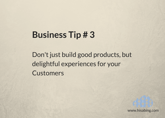Business Tip 3